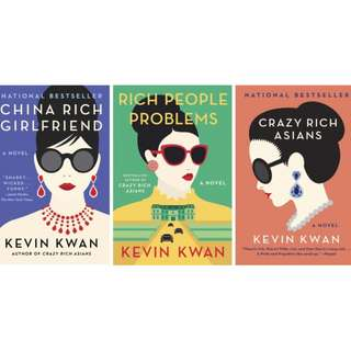 Crazy Rich Asians , Rich People Problems, China Rich Girlfriend - Kevin Kwan Bundle
