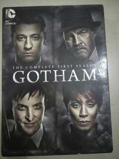 Gotham English drama DVD