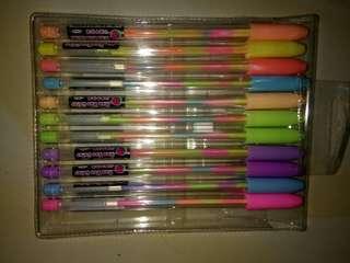 1 Pen 4 warna (warna warni)
