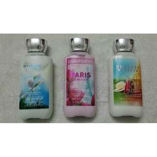 Imported Bath And Body Works Lotion