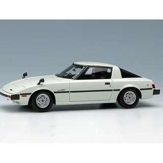 全新Make Up 1:43 Mazda Savanna RX7 (SA22C) 1978 White VM099D