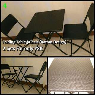 Table & Chair (set)