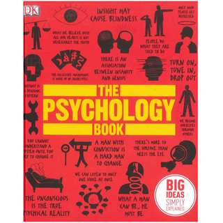 The Psychology Book: Big Ideas Simply Explained  -DK