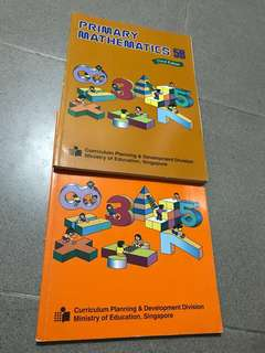 Primary Maths 5A & B Booklets