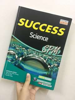 Success Science SPM(FREE 2 exercise books)