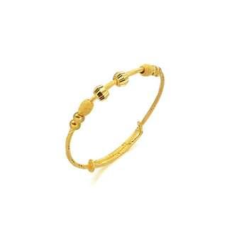 Baby Bangle ~ 999.9 Gold
