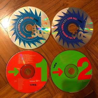 Various Dance Compilations Music CDs