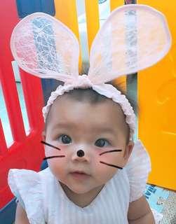 韓國可愛🎀兔仔耳頭帶