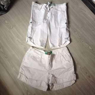 White Shorts Bundle
