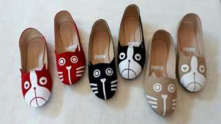 CAT DOG LOAFERS 😍😍😍😍