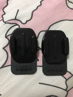 GoPro removeable adhesive mount one pair