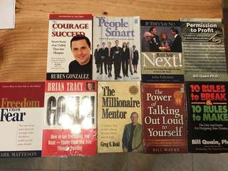 Books motivation leadership personal development business wisdom life skills character building