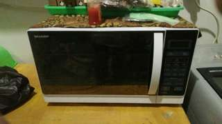 Sharp Microwave Oven Grill R-728