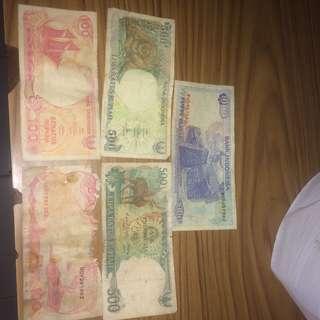 uang dan telephone doloe