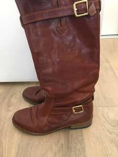 Coach 1941 vintage Whitley boots 7.5