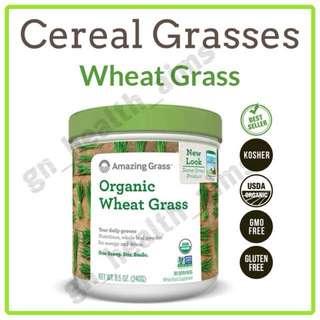 新裝 Amazing Grass 有機小麥草粉 Wheat Grass Powder 綠粉 排毒養顏 平衡酸鹼值 強化免疫力
