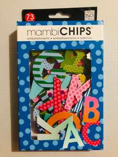 Mambi Chips embellishments