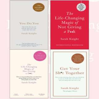 Sarah Knight eBook Bundle of 3