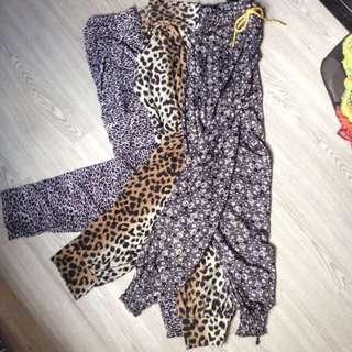 Printed Pants/Trousers