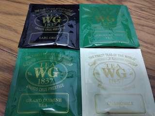 TWG 茶包 4款各1包 (不散賣)