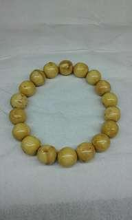White Bahar Wood Bracelet