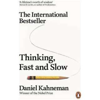 Thinking, Fast and Slow - Daniel Kahneman (EBOOK)