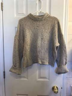 OAK+FORT CROPPED SWEATER