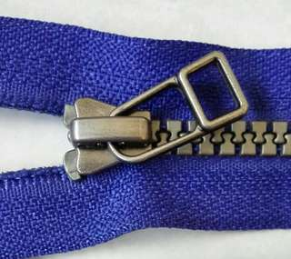 Ykk open tail zippers