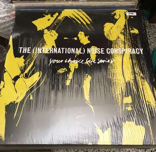 The International Noise Conspiracy - Your Thrill Live Session LP