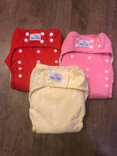 Happy Heinys Cloth Diaper - Set of 3