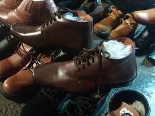Sepatu Jenggel Boots Kulit Asli dari Garut