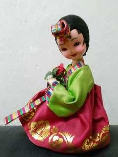韓國娃娃 傳統公仔擺設