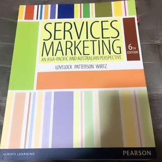 Services Marketing - Murdoch textbook