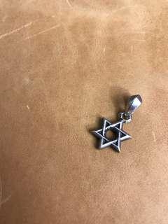 Chrome Hearts star pendant