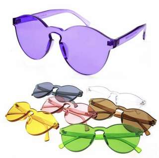 Candy glasses (sisa warna: pink, transparant, purple, brown)