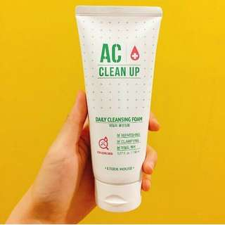 Etude House AC Clean Up Daily Cleansing Foam