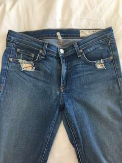 Rag and Bone Skinny Jean sz 28