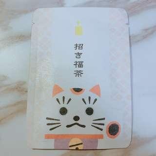 日本招財納福賀正茶包2g