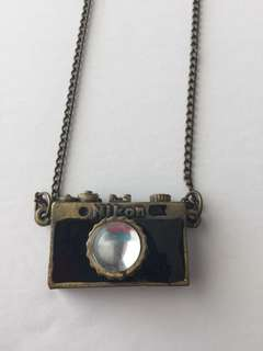 Nikon Camera Necklace