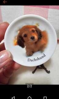 🚚 🐕狗狗陶瓷迷你盤擺飾品