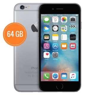 Iphone 6 64GB GOLD/GREY LTE 4G 100% GARANSI 1 Tahun