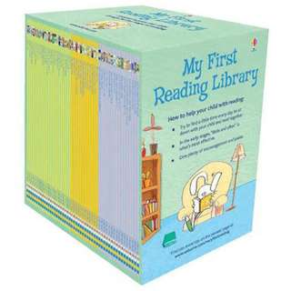 Usborne My First Reading Library Boxed Set  (50 Books All Brand New)
