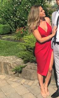 Red dress from boohoo US size 4