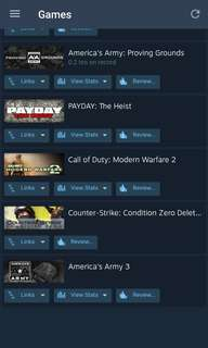 Steam account gtav Street fighter v and more