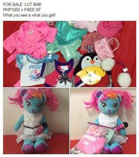 Lot of Build-a-Bear
