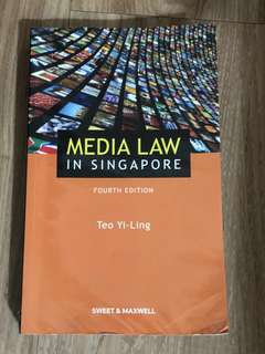 Media Law in Singapore (4th Edition)