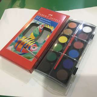 Faber Castell watercolor palette