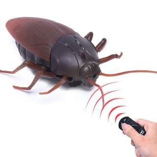 Prank Infrared Robot Remote Control Cockroach