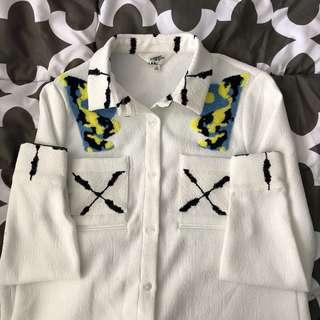 Korean Button Up Shirt