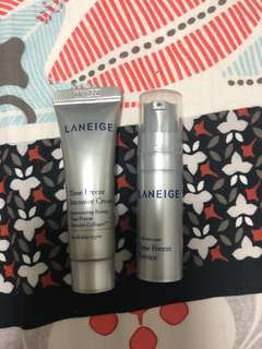 BN Laneige Time Freeze Intensive Cream (10ml) and Essence (5ml)